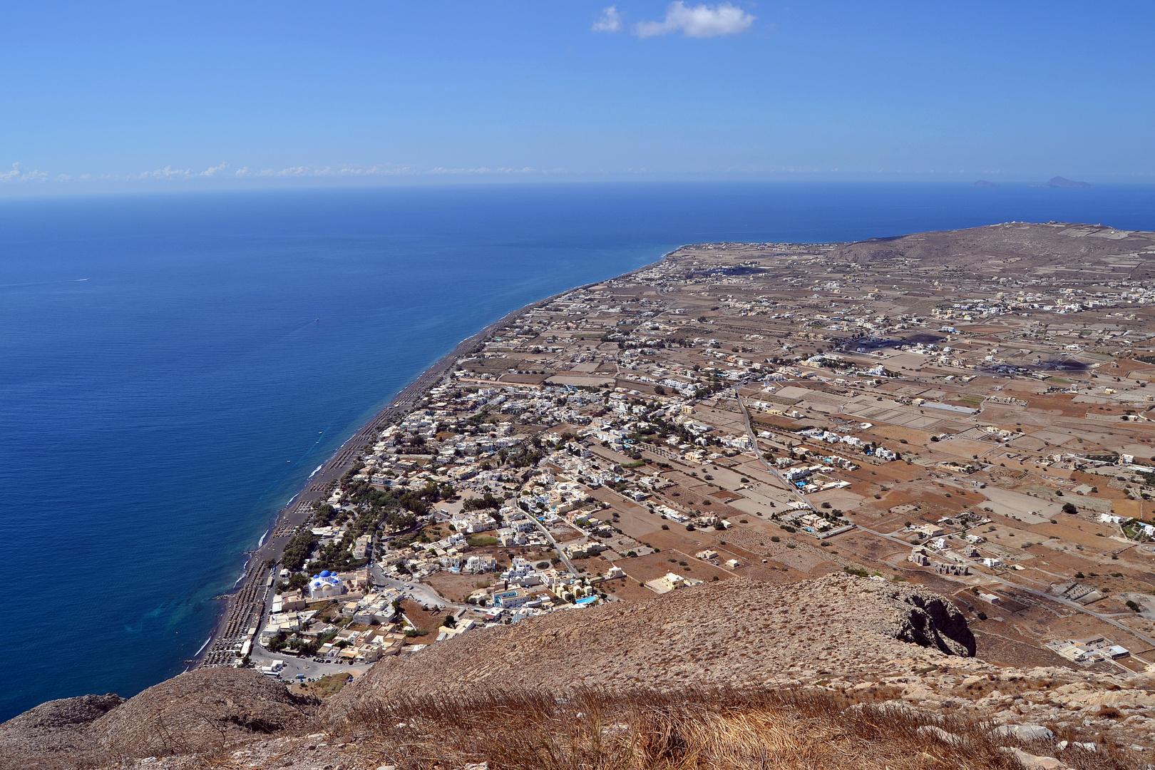 Santorini 2014, Kamari, Alt-Thira 10