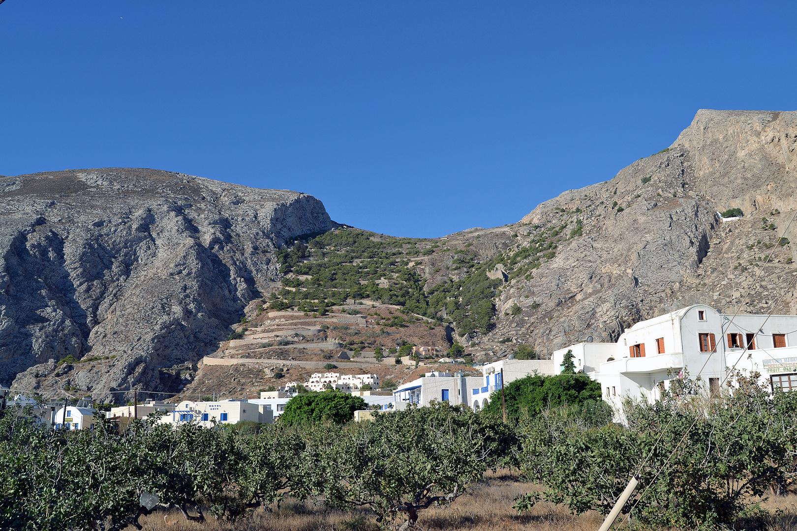 Santorini 2014, Kamari, Alt Thira