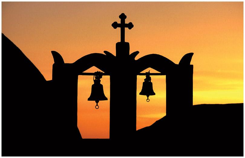 Santorini: Abendglocken