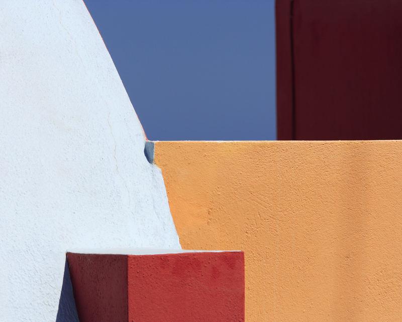Santorini abstrakt #9