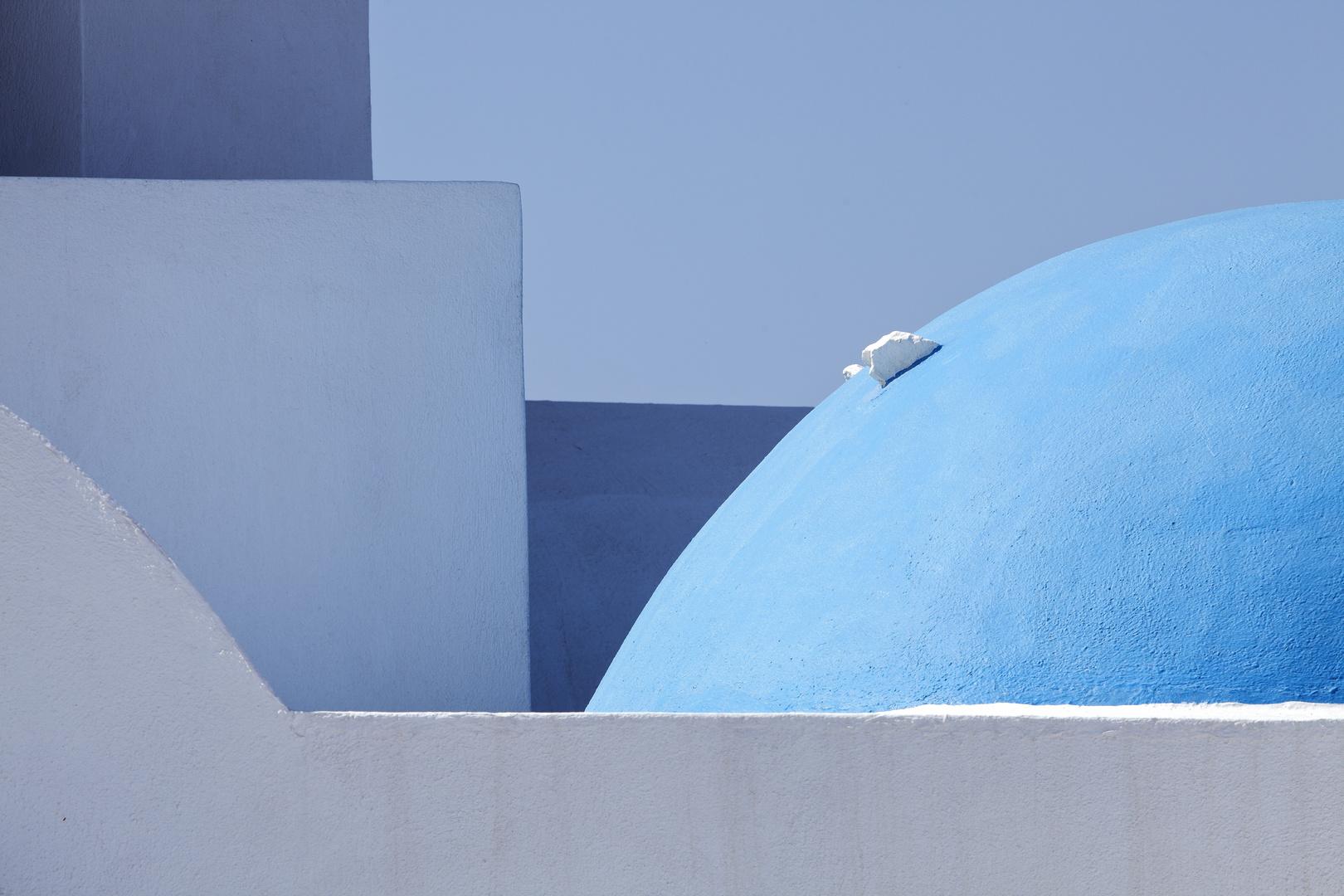 Santorini-Architektur