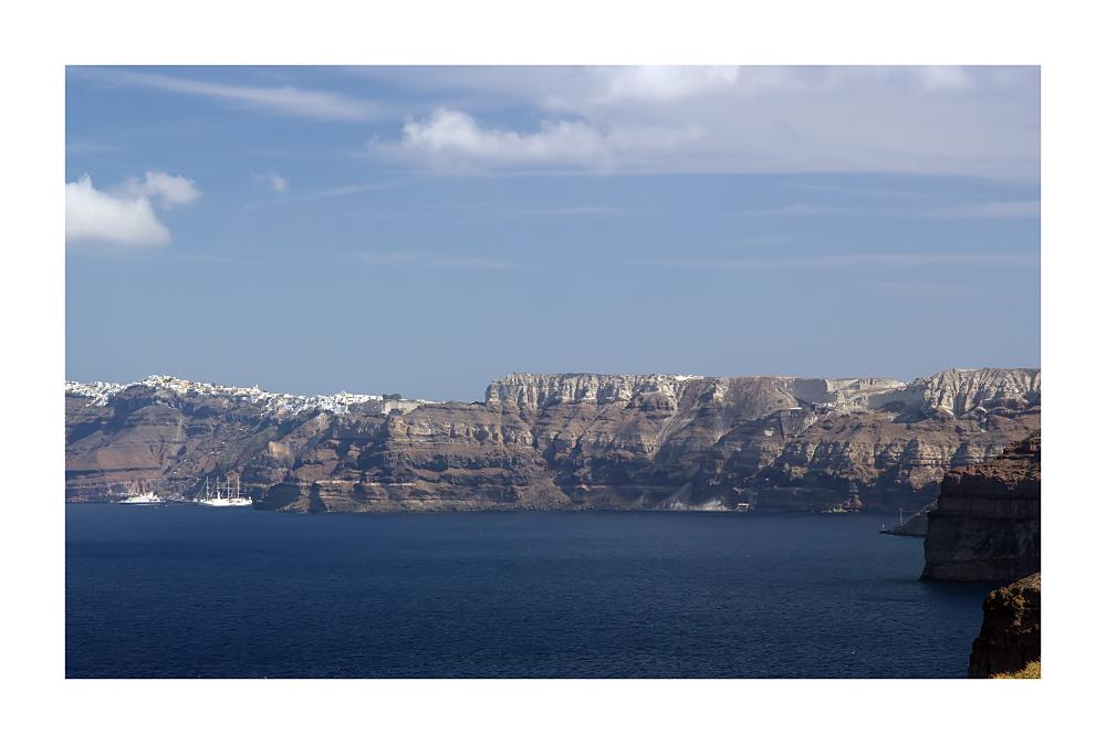 Santorini (Blick nach Fira)