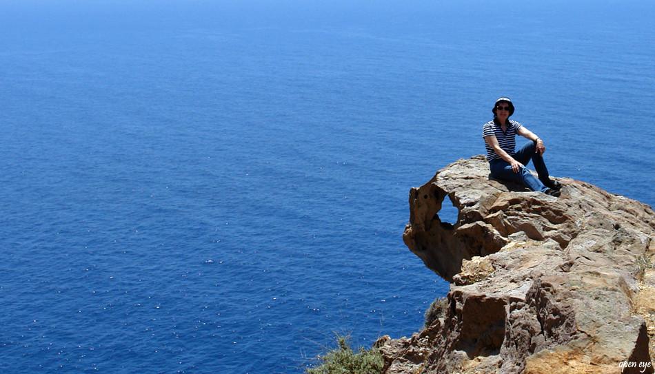 Santorini die Trauminsel