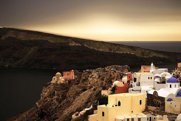 Santorini Island...