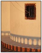 Santorini: Kirchenfenster