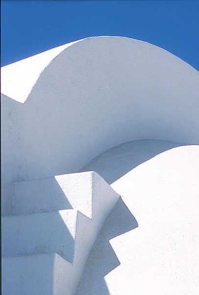 Santorini: Stufen