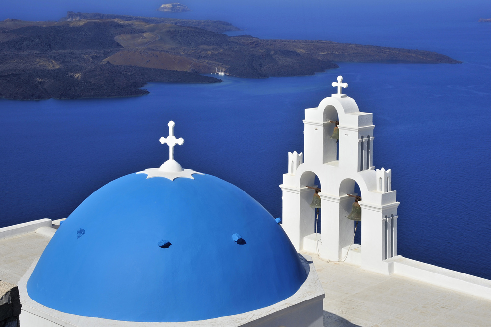 Santorini's Symbole