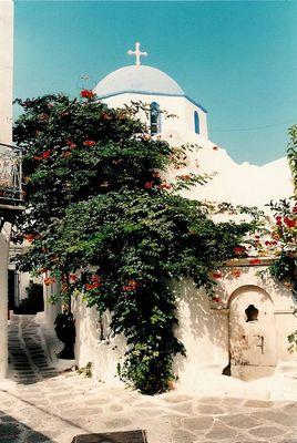 Santorinische Ortsansichten