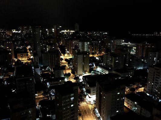 Santos bei Nacht