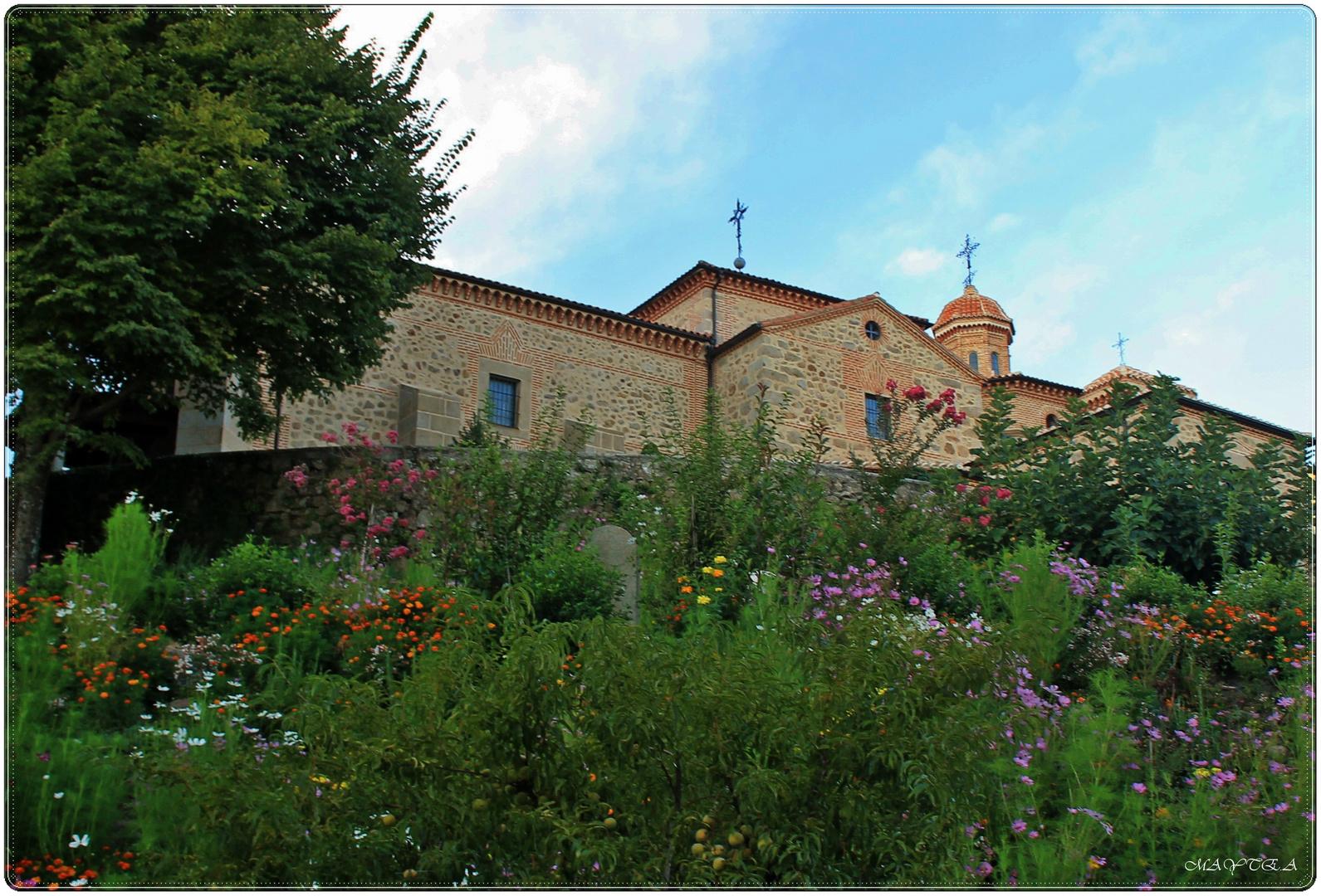 Santuario de Chilla. ( fachada posterior)