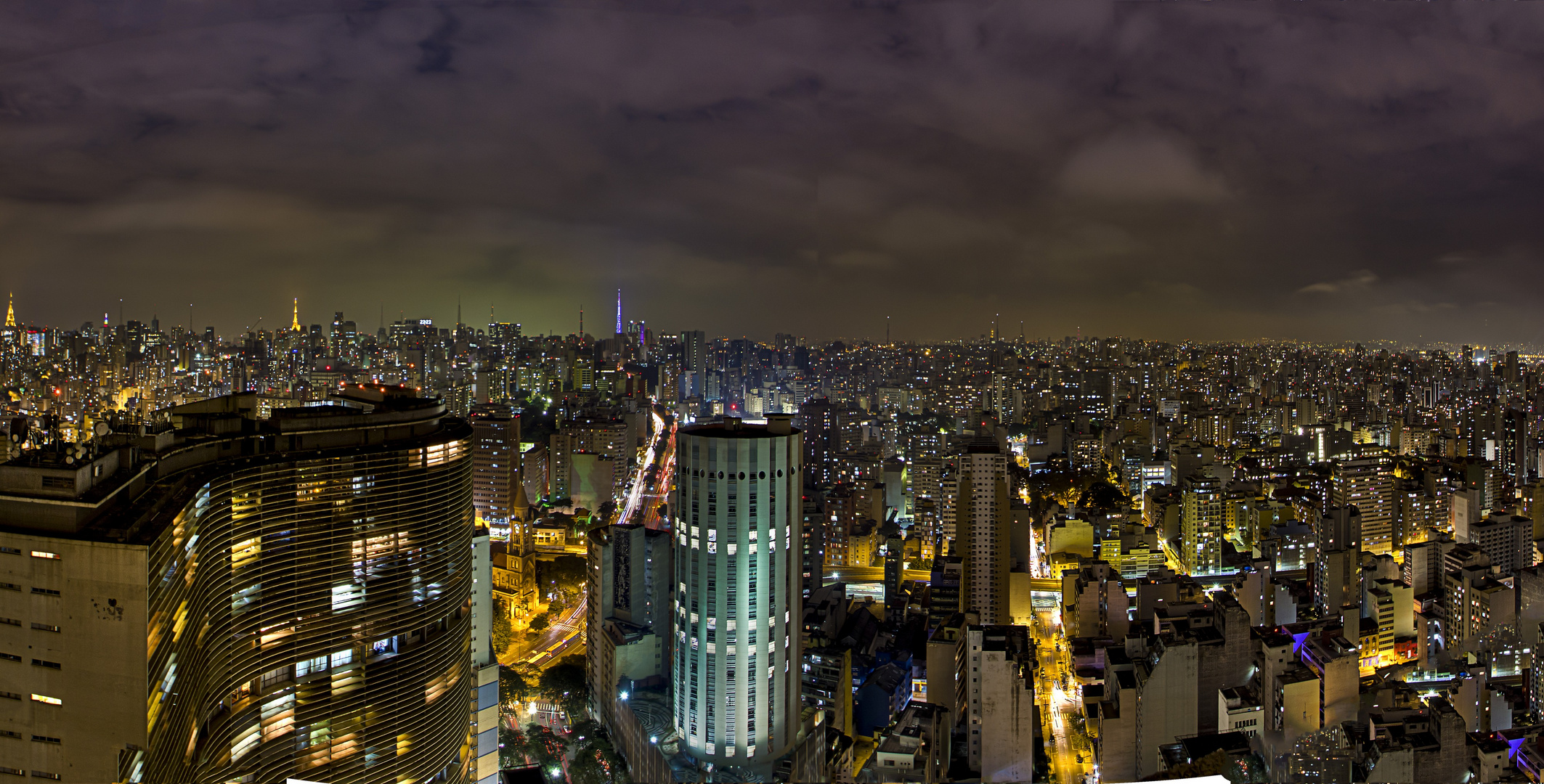 Sao Paolo at Night