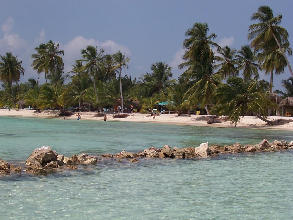 Saona, la plage