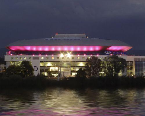 [ SAP Arena - Überschwemmung @ Mannheim ]²