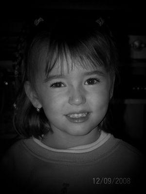sarah 3 ans