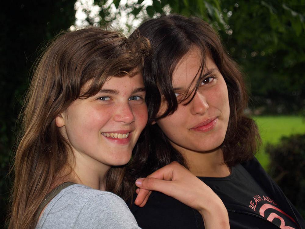 Sarah en Adeline