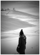sarah im schnee