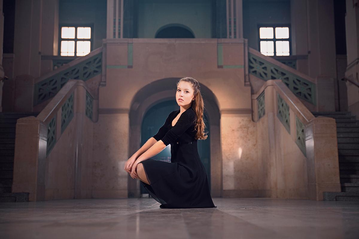 Sarah im Volksbad Nürnberg