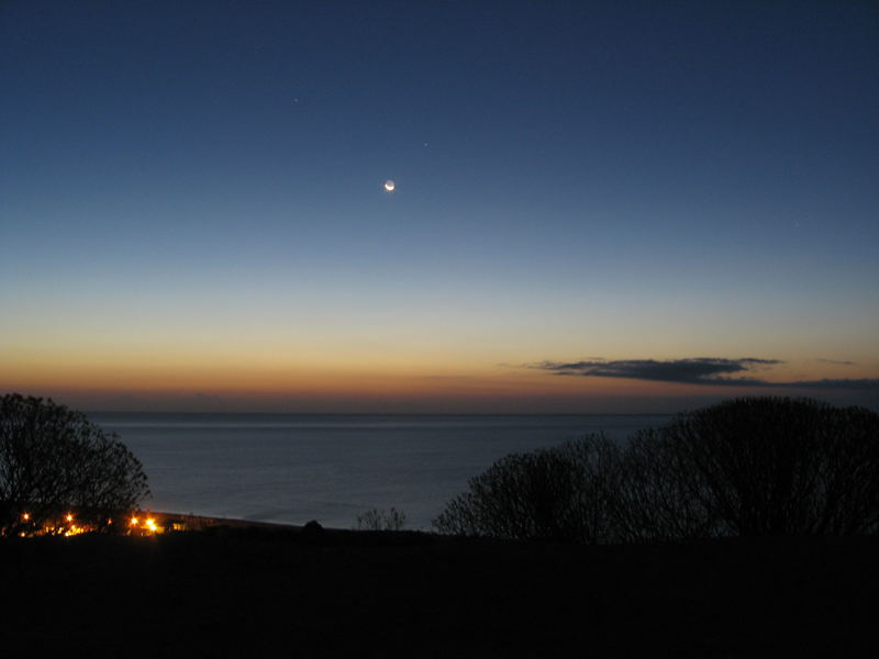 Sardegna in der Morgendämmerung