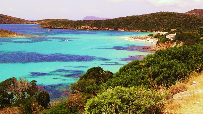 Sardische Bucht St. Magarita