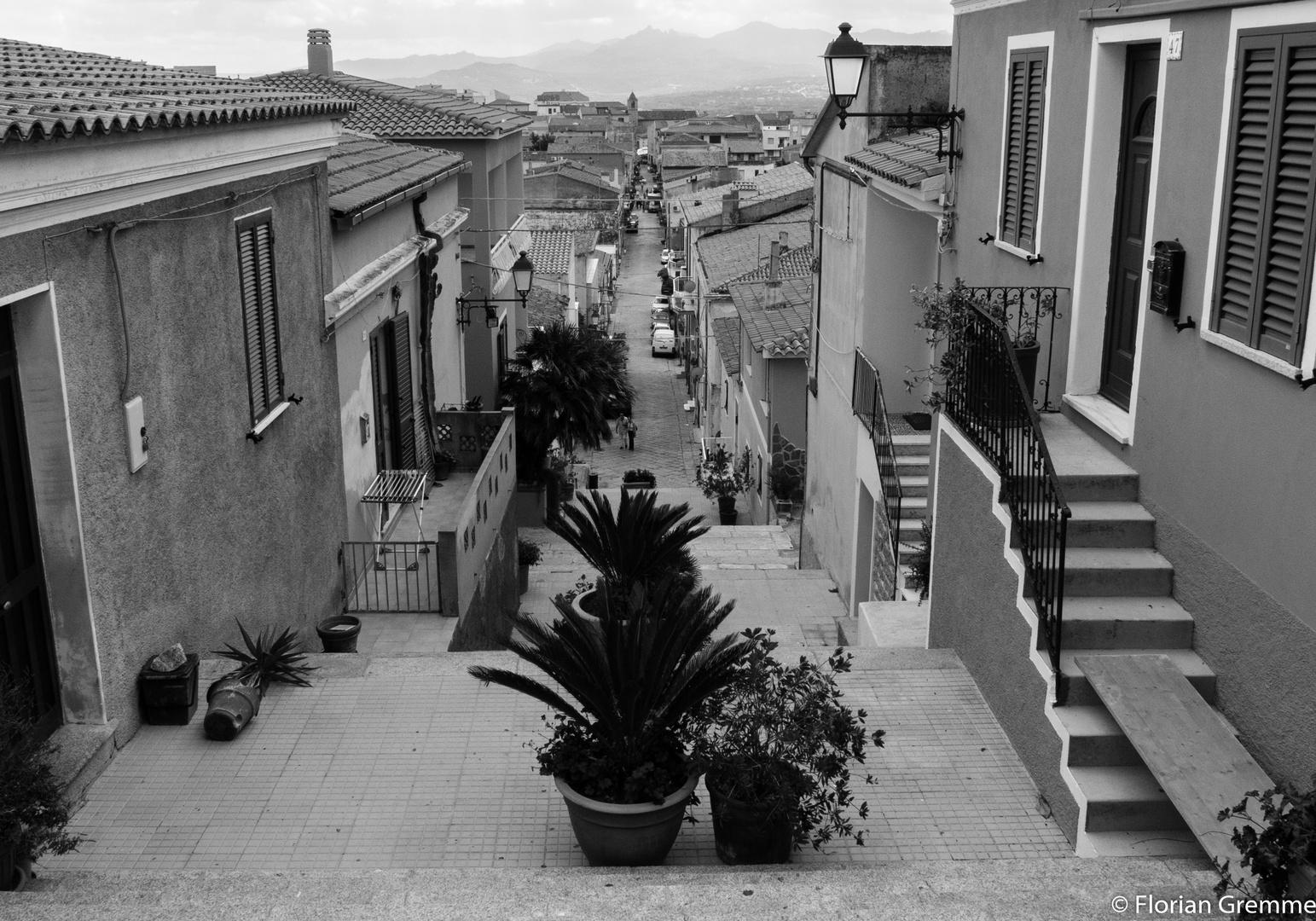 Sardische Stadt