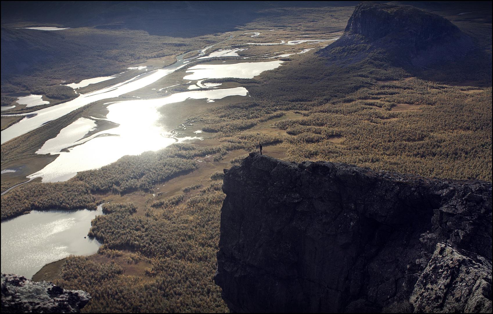 Sarek Nationalpark - wie klein wir doch sind