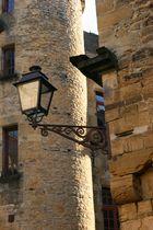 Sarlat - lampadaire