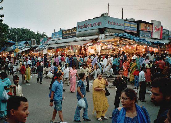 Sarojini Nagar, Ein Markt im Süden von New Delhi