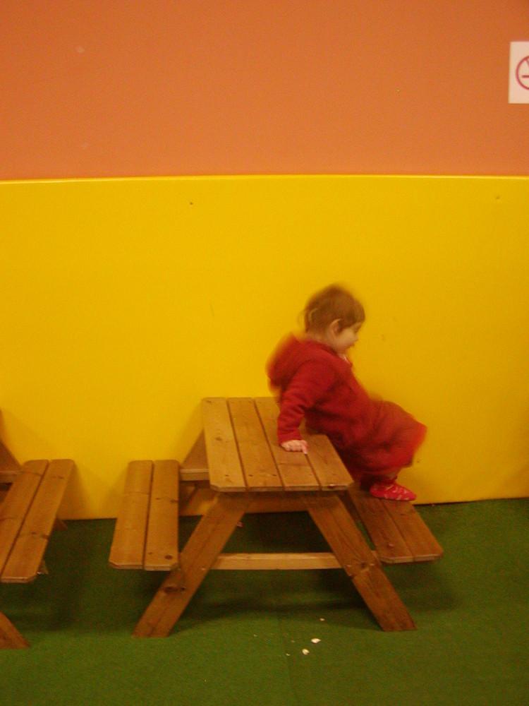 Saskia at Kids's land