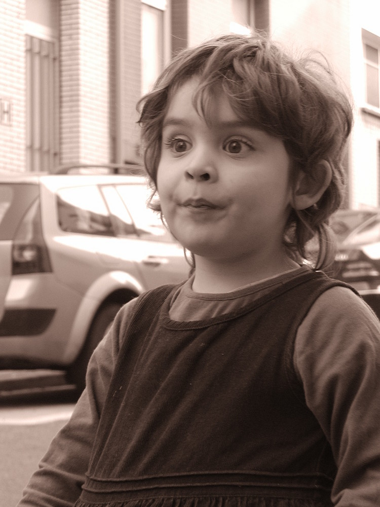 Saskia im frühjahr 2009