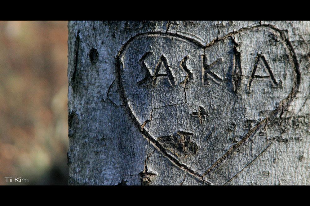 Saskia in LOVE