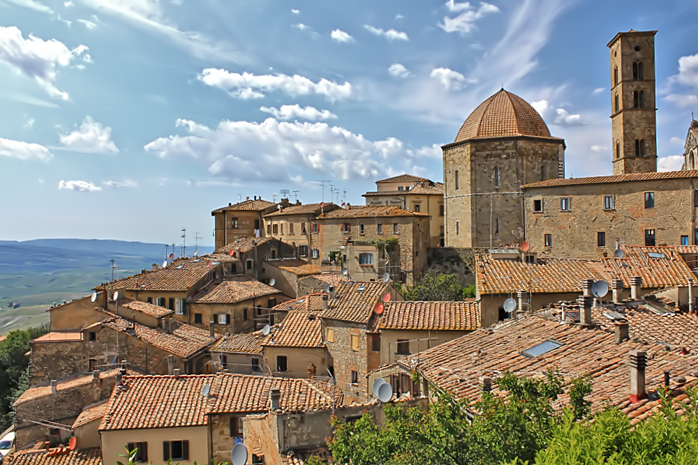 SAT Anlagen in der Toskana
