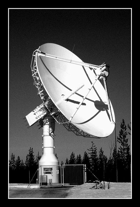 Satelliten-Anlage
