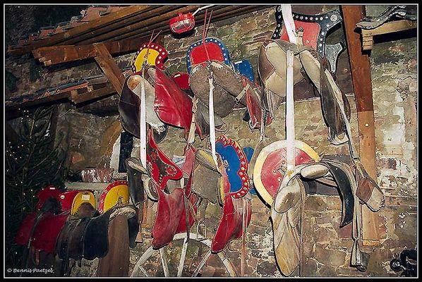 Sattelkammer der Ritter, in Burg Satzvey