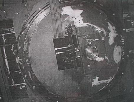 Sattelplatte eines Schwer-Last-Tiefladefahrzeugs