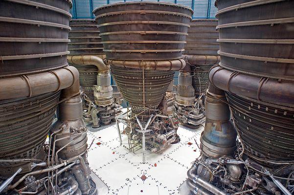 Saturn 5 - die erste Stufe