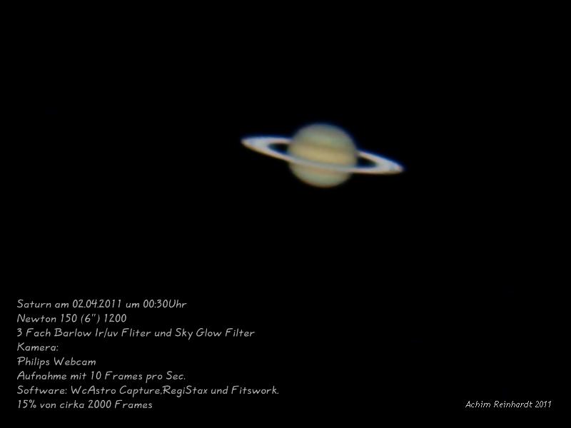 Saturn am 02.04.2011
