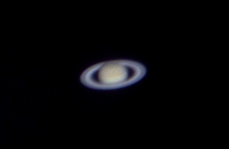 Saturn mit Ring und Cassini-Teilung