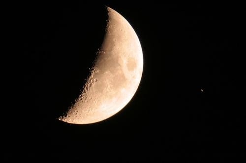 Saturn nach Bedeckung durch den Mond