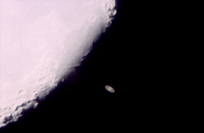 Saturnbedeckung am 3.11.2001