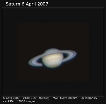 SaturnZeit II