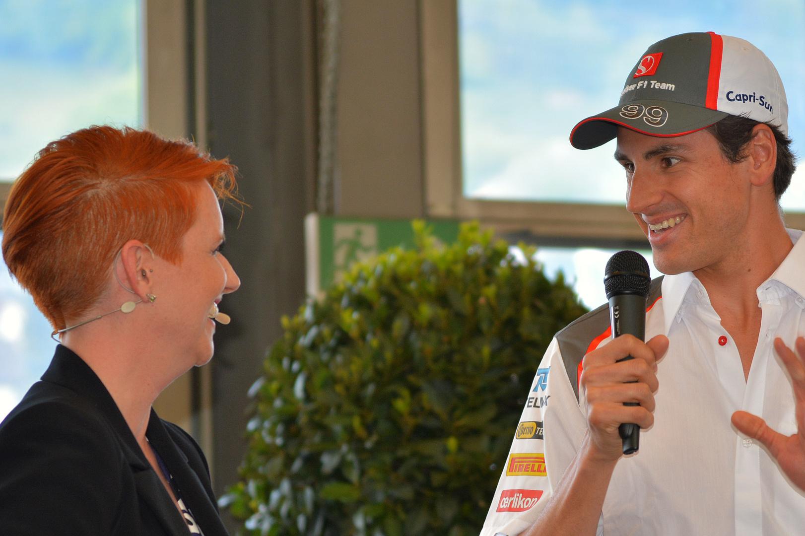 Sauber F1 Fahrer Adrian Sutil