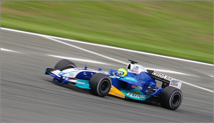 Sauber on tour