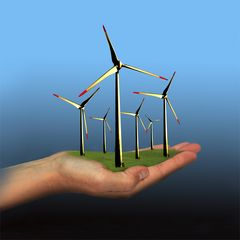 Saubere Energie in unserer Hand