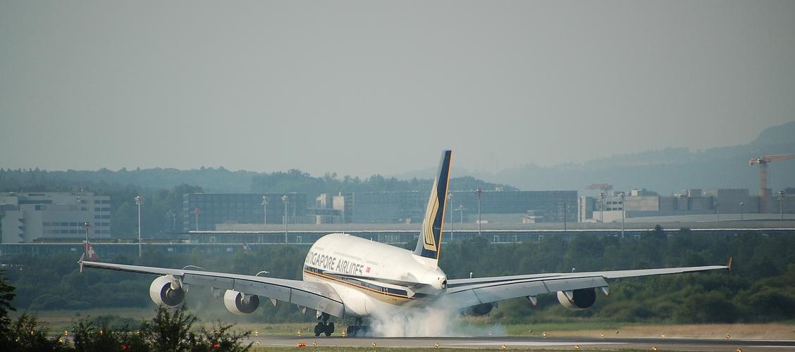 ... saubere Landung