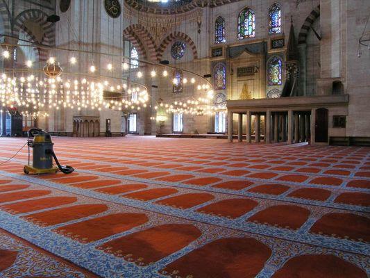 saubere Süleyman-Moschee