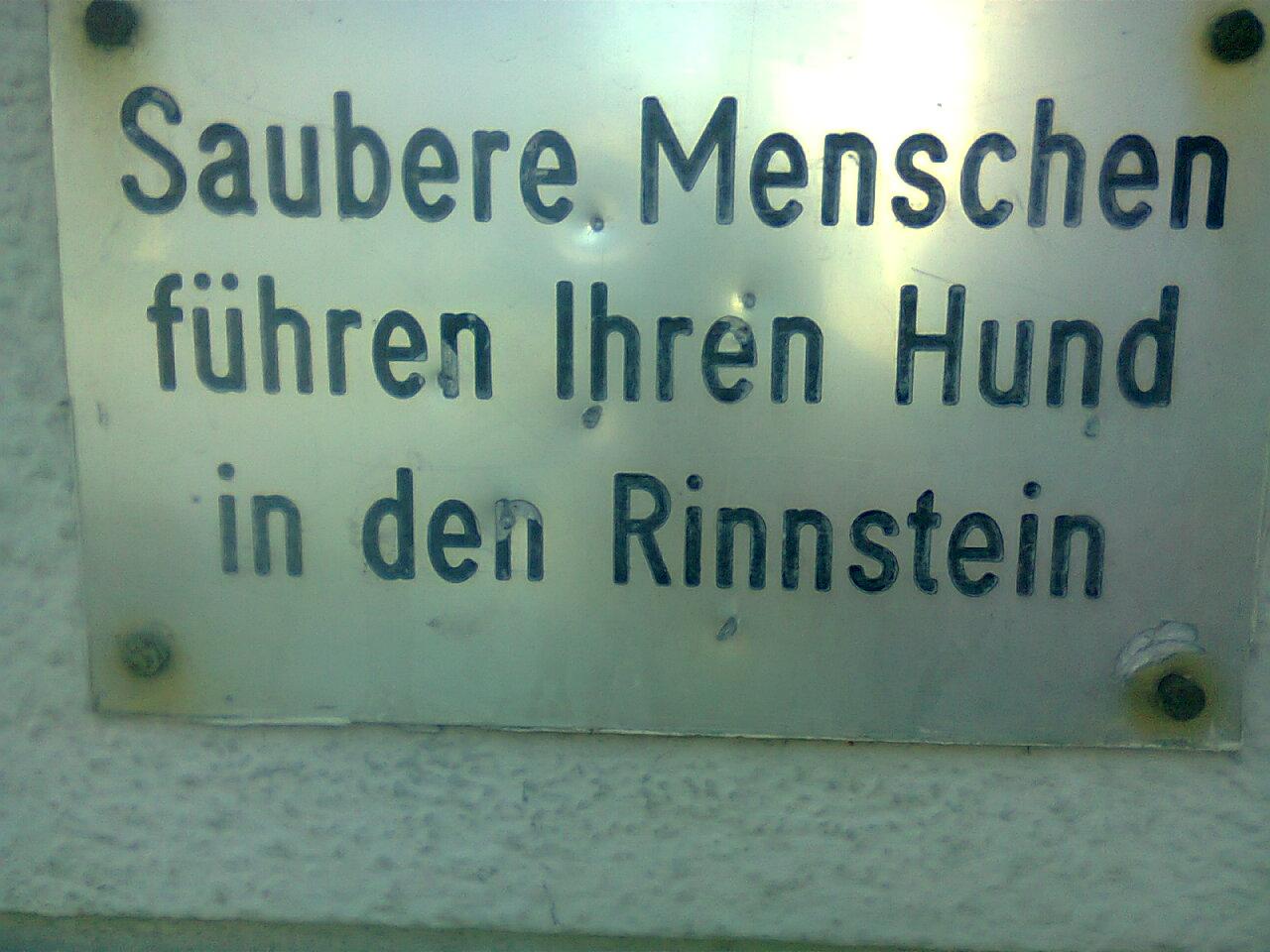 sauberes Bielefeld