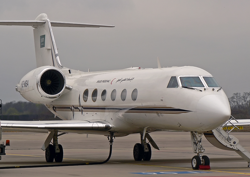 Saudi Aeromedical Evacuation Gulfstream IVSP HZ-MS4