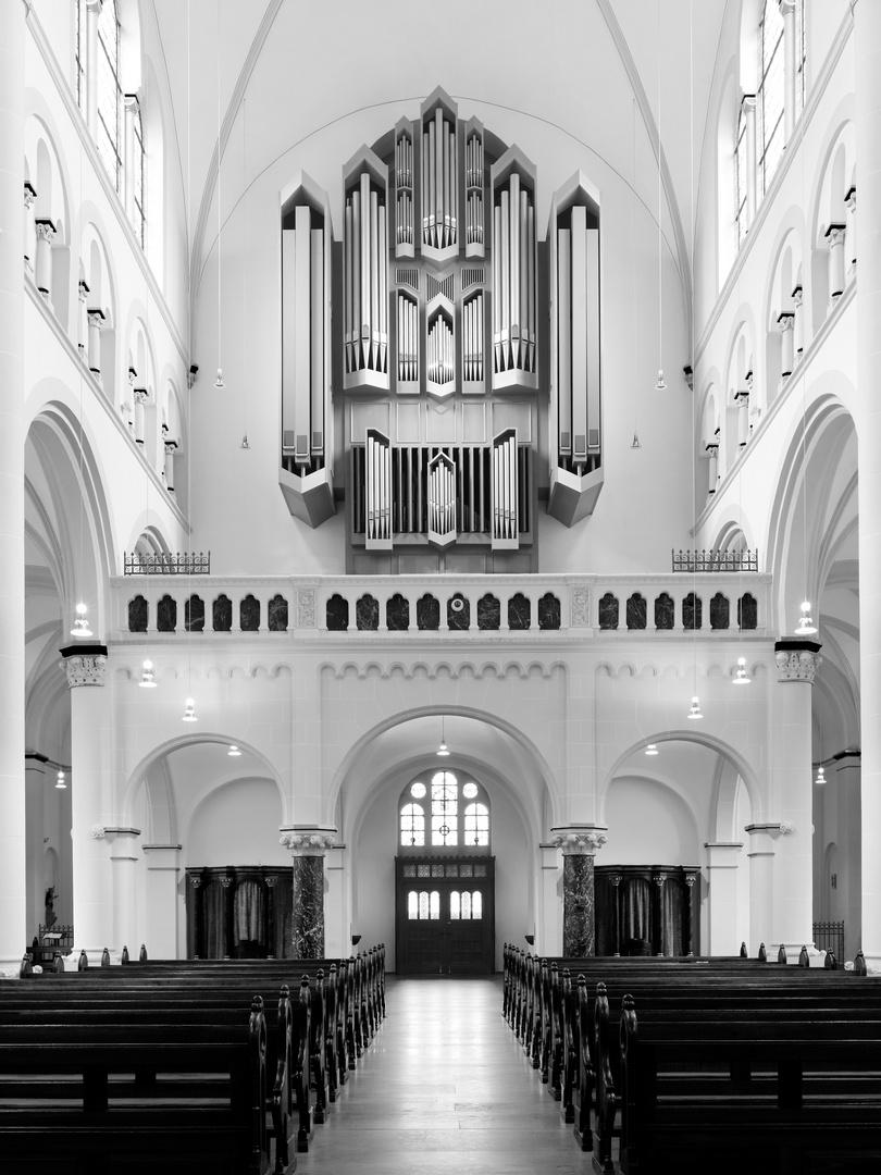 Sauer Orgel in Neheim Hüsten