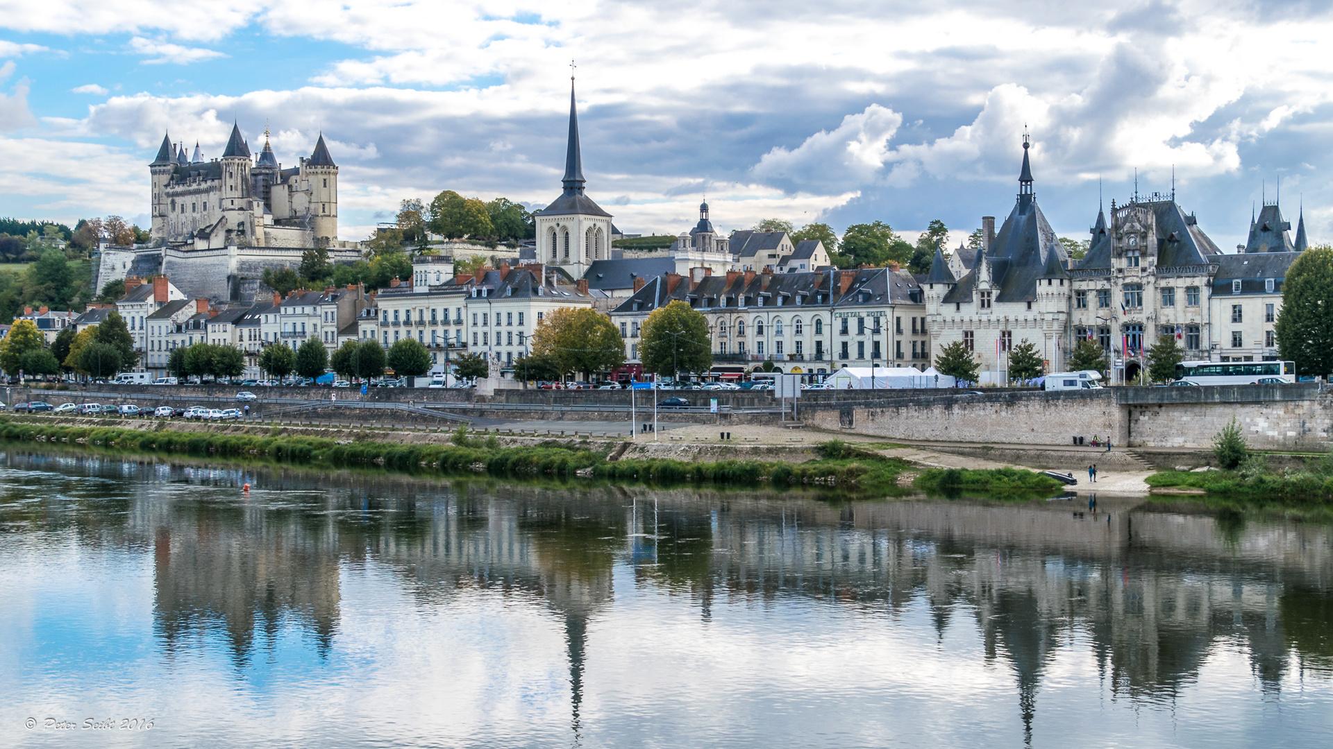 Saumur, mit dem Château de Saumur
