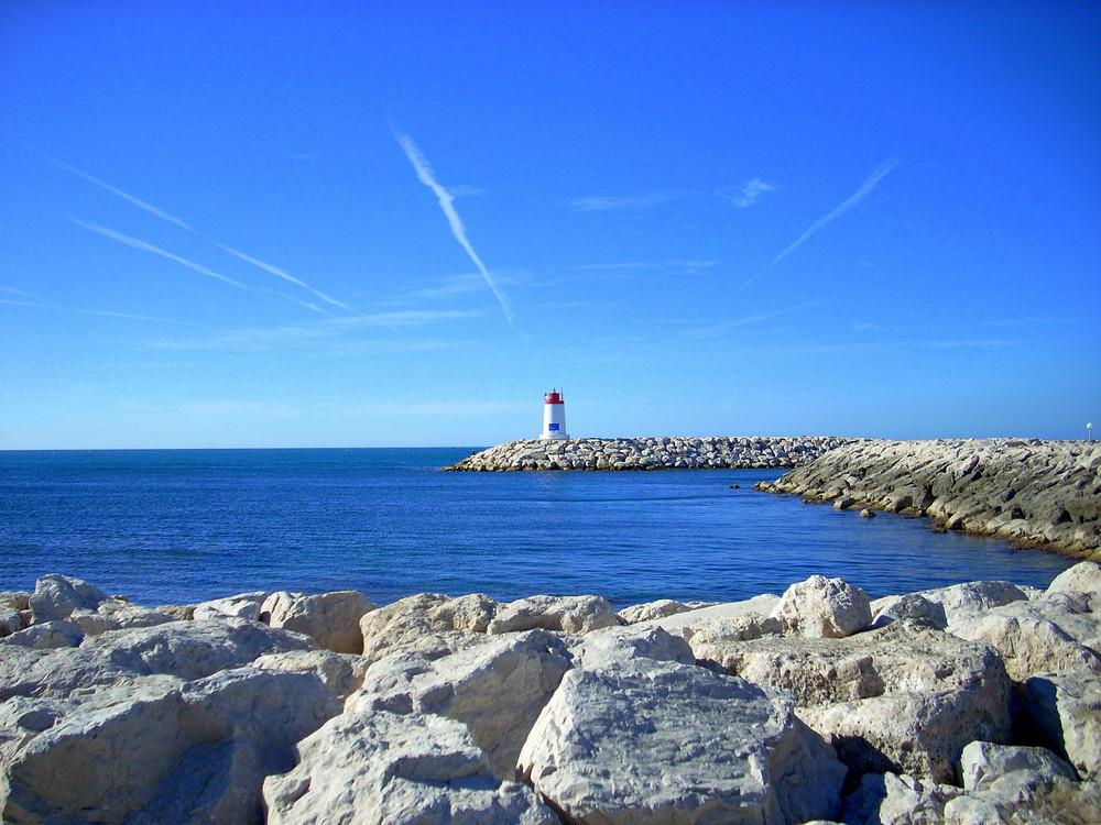 Sausett lighthouse